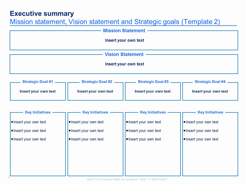 Simple Strategic Plan Template New Strategic Plan Template