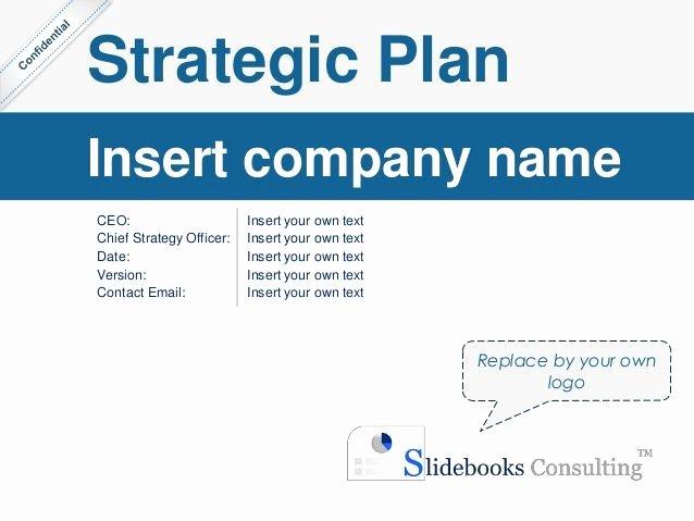 Simple Strategic Plan Template Unique Simple Strategic Plan Template