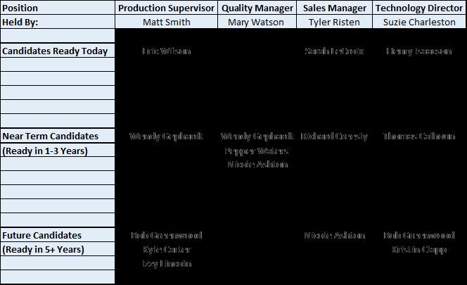 Simple Succession Plan Template Fresh Printable Employee Succession Planning Template – Free