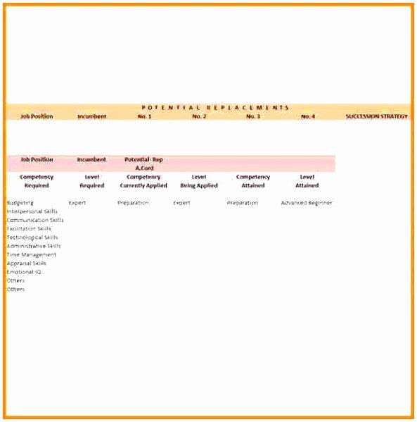 Simple Succession Plan Template Inspirational Talent & Succession Succession Plan & 9 Box Grid Template