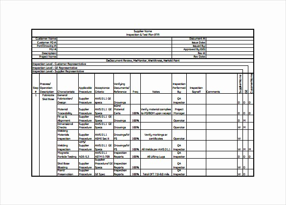 Simple Test Plan Template Unique 15 Test Plan Templates Pdf Doc