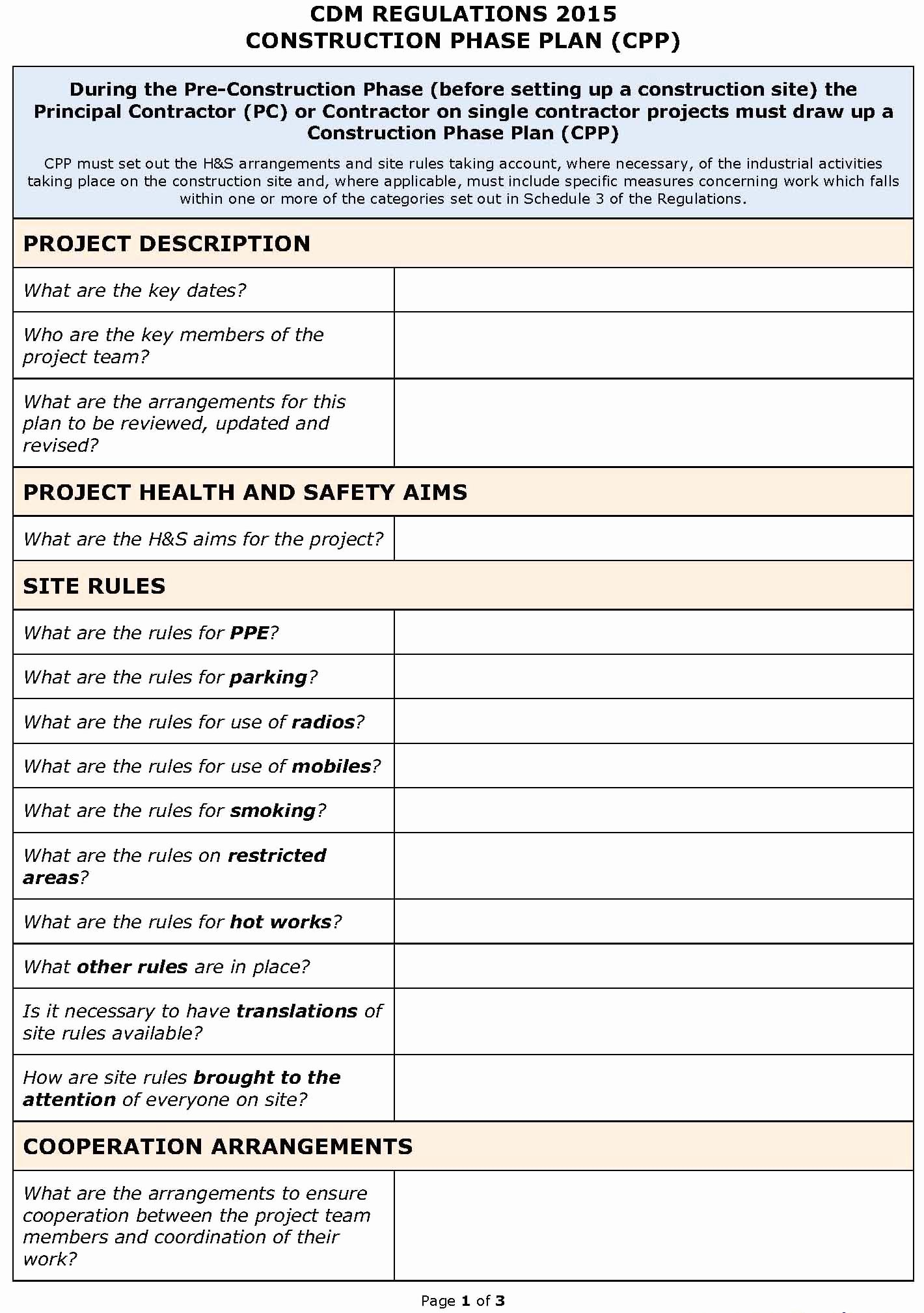 Site Safety Plan Template Luxury 24 Of Site Safety Plan Template