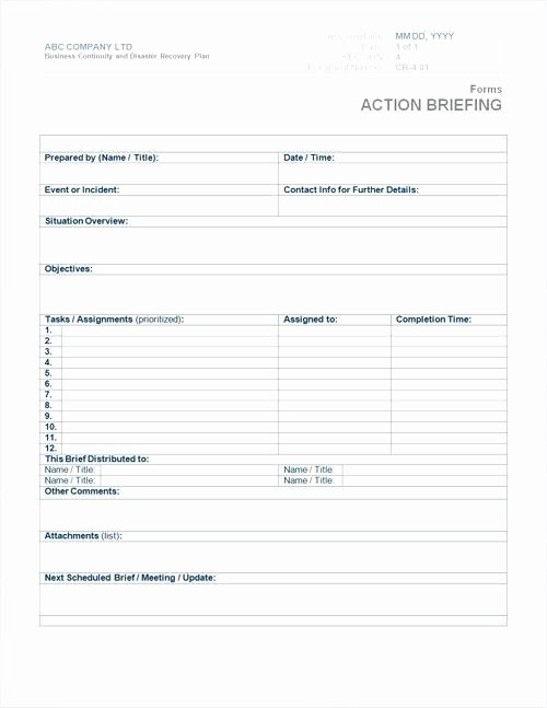 Small Business Continuity Plan Template Elegant Continuity Template Business Continuity Plan Template