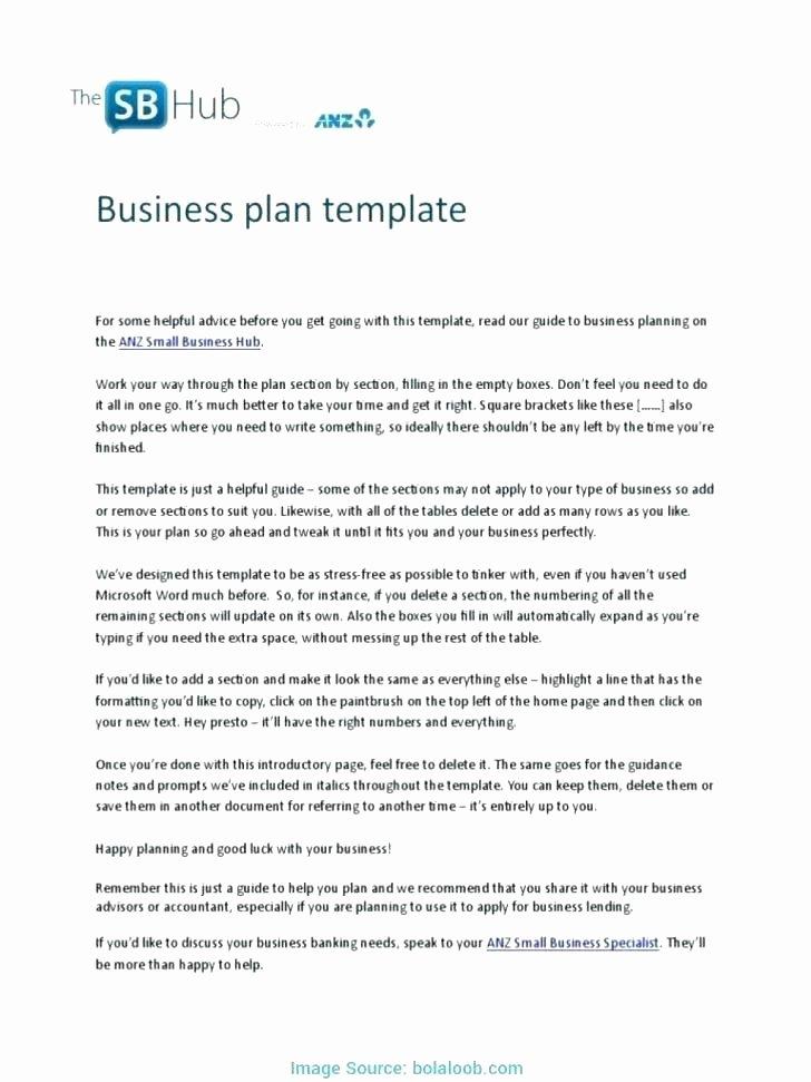 Small Farm Business Plan Template Fresh Business Plan Templates Australia – thefttalk
