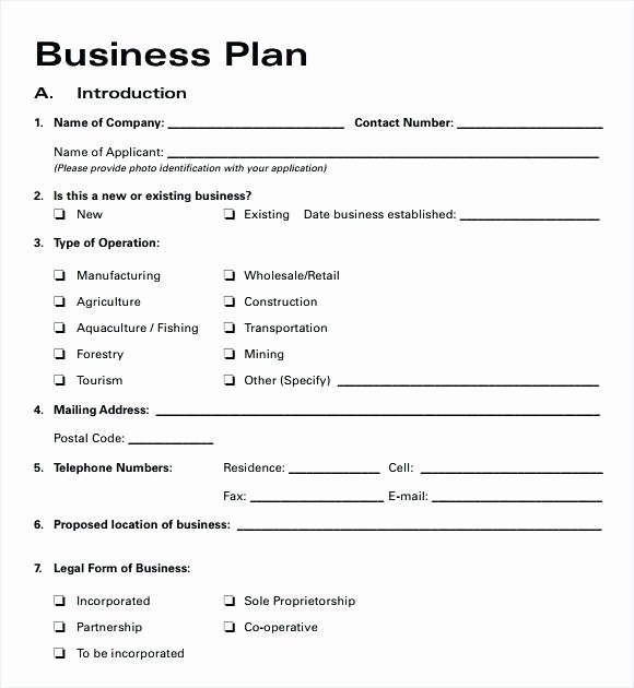 Small Farm Business Plan Template Lovely Small Business Plan Template Australia – themostexpensive