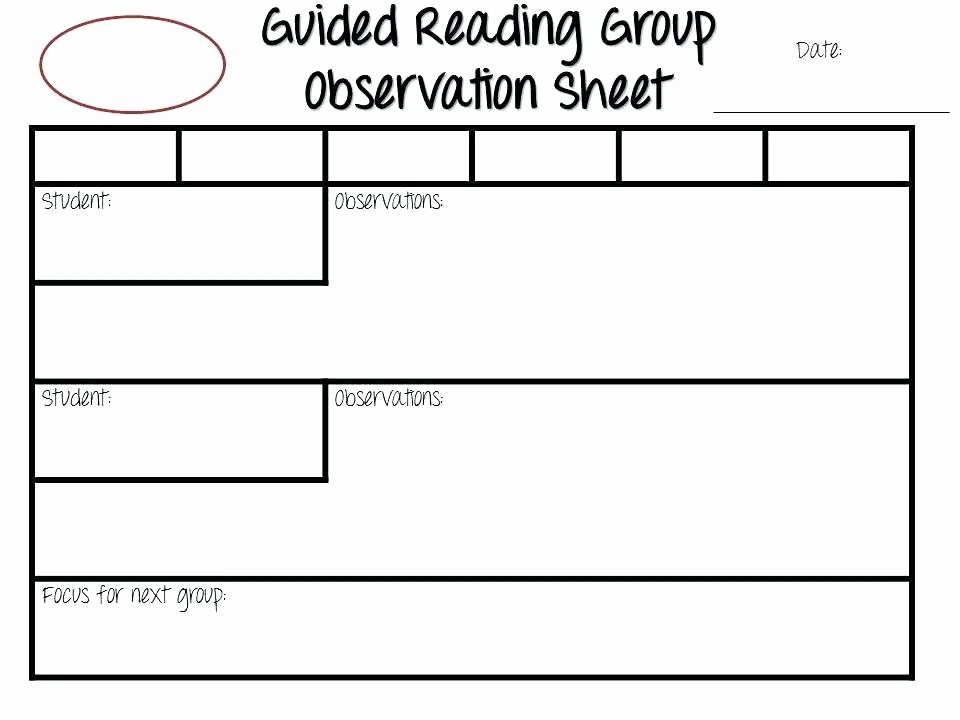 Small Group Lesson Plan Template Luxury Sample Guided Reading Lesson Plan Template