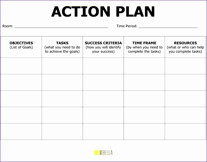 Smart Action Plan Template Unique 8 Smart Goals Excel Template Exceltemplates Exceltemplates