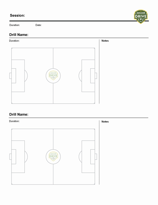 Soccer Practice Plan Template Beautiful Free Downloads for soccer Coaches