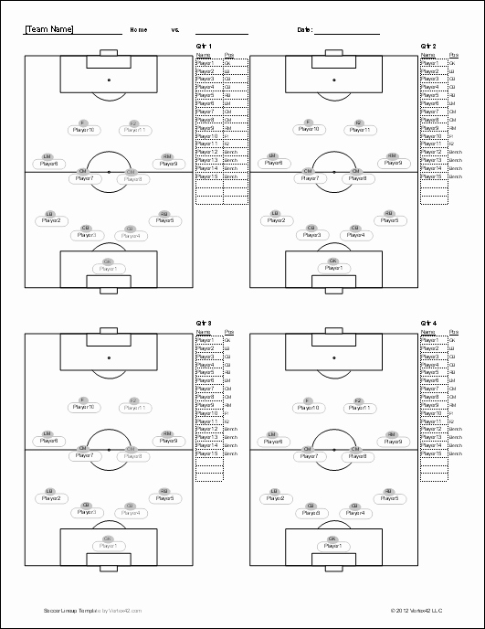 Soccer Practice Plan Template Best Of soccer Player Set Up Sheets