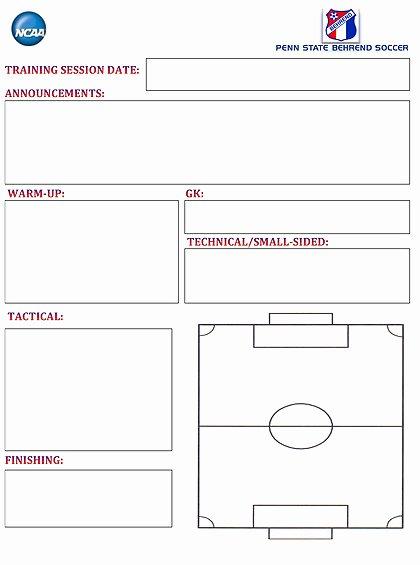 Soccer Practice Plan Template Elegant Sarafisadyton