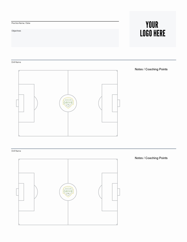 Soccer Practice Plan Template Luxury soccer Coaching tools and Resources