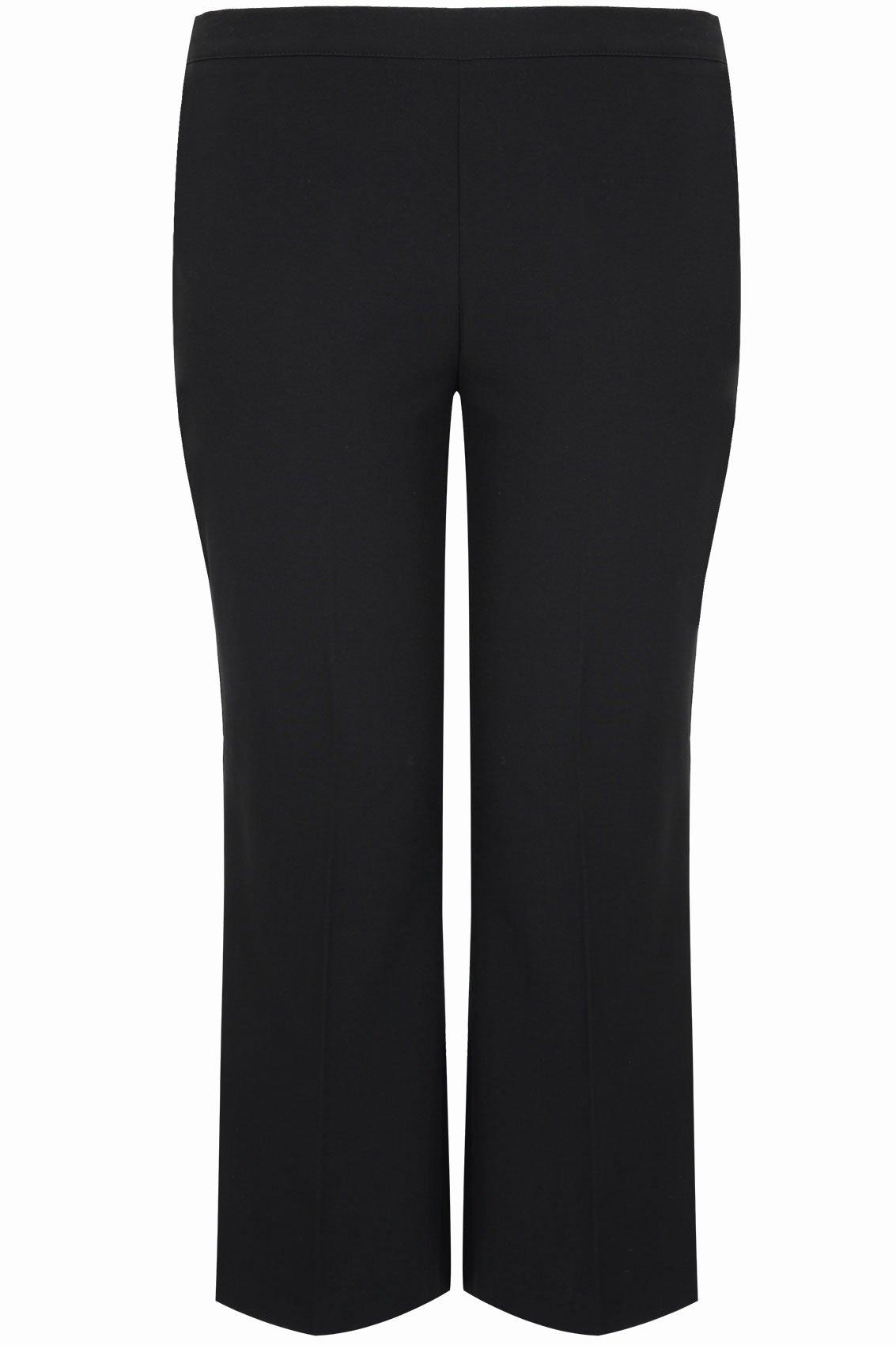 Social Security Awards Letter 2015 Luxury Pantalon Classique Coupe Droite Noir Grande Taille 44 à 64