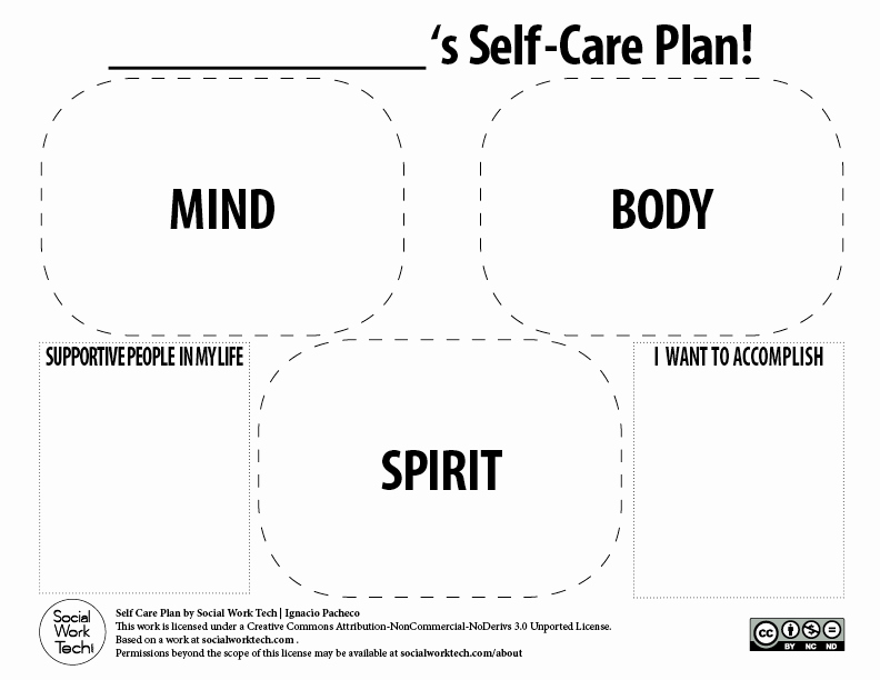 Social Skills Lesson Plan Template Inspirational Self Care Tips