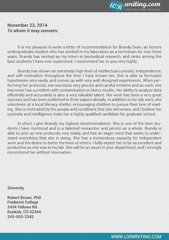 Social Worker Letter Of Recommendation Elegant Re Mendation Letter for Graduate School social Work