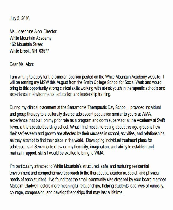 Social Worker Recommendation Letter Inspirational 47 Examples Of Reference Letters Word Google Docs