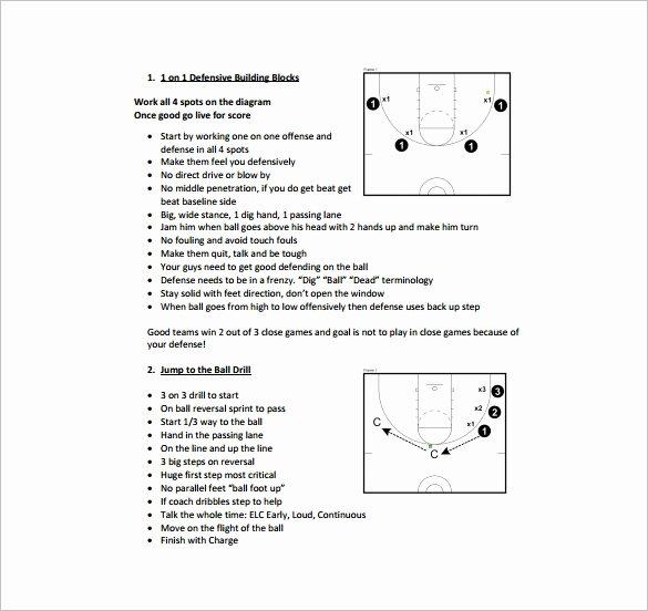 Softball Practice Plan Template Fresh Basketball Practice Plan Template 3 Free Word Pdf