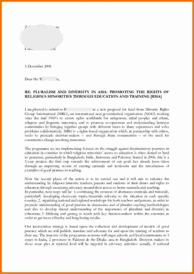 Source Of Funds Letter Template Fresh Example A Proposal Letter Example Letter Proposal
