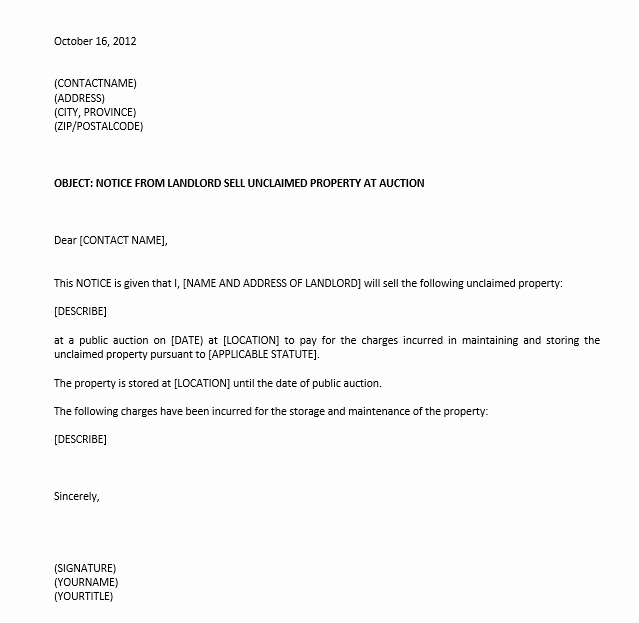 Source Of Funds Letter Template Lovely 3 Unclaimed Property Notice Templates