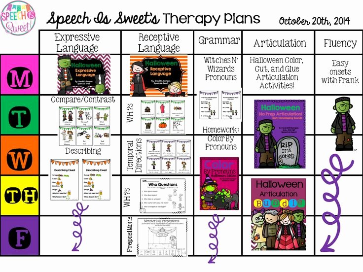 Speech therapy Lesson Plan Template Best Of 118 Best Images About Slp Lesson Plan Freebies On
