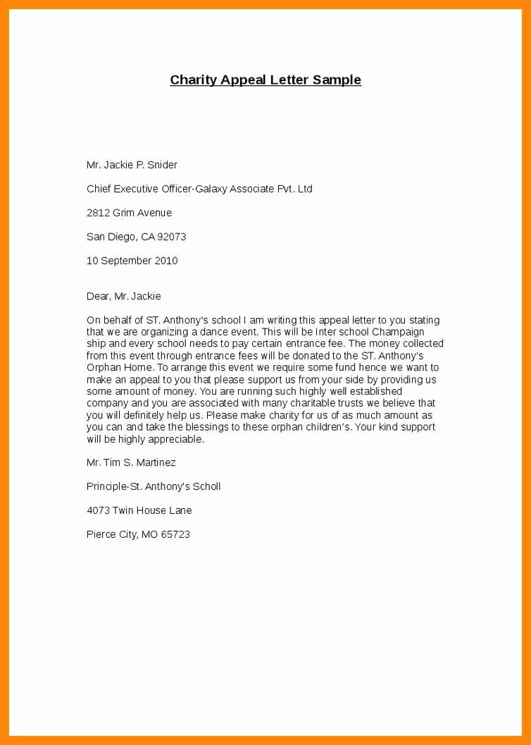 6 7 writing an appeal letter