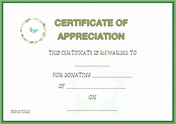 Sponsorship Plaque Wording Unique 22 Legitimate Donation Certificate Templates for Your Next