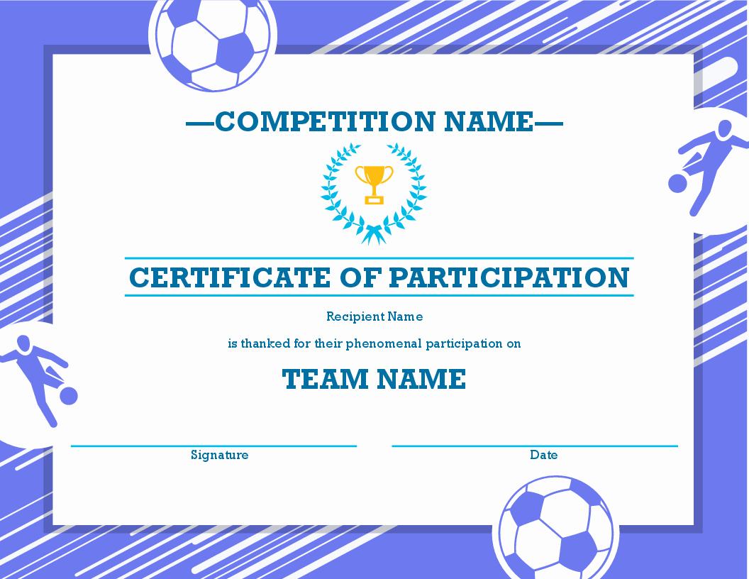 Sports Certificate Wording Luxury Certificates Fice