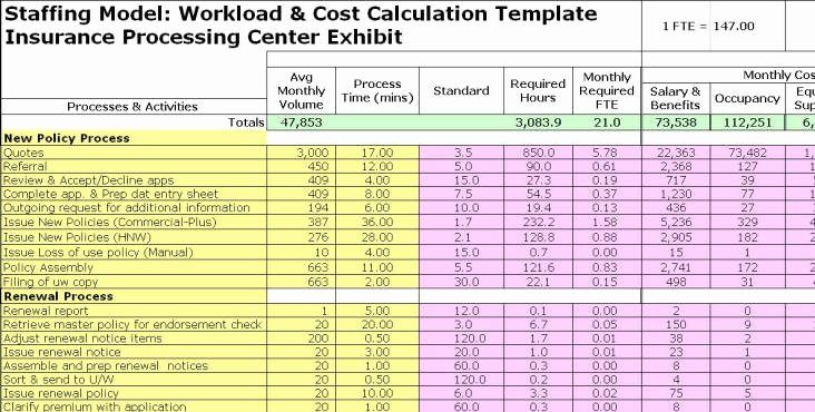 Staffing Plan Template Excel Best Of Fte Exhibits