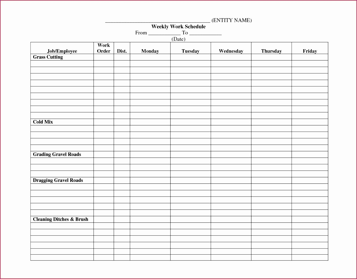 Staffing Plan Template Excel New 12 Staffing Schedule Template Excel Free Exceltemplates