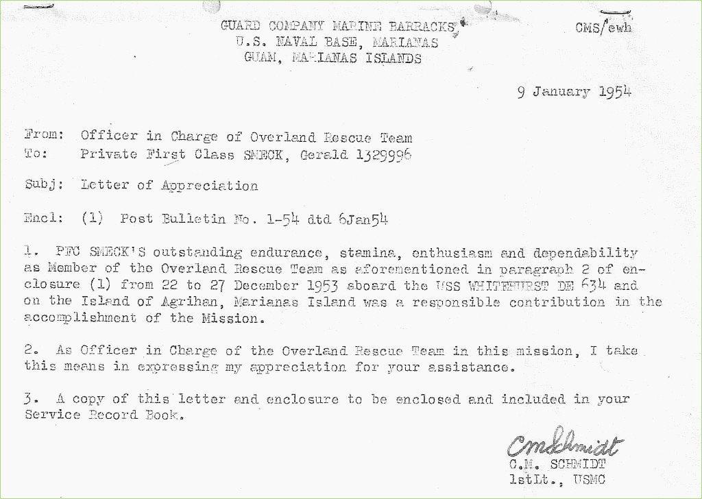 Standard Naval Letter format Fresh Navy Letter Appreciation format – thepizzashop
