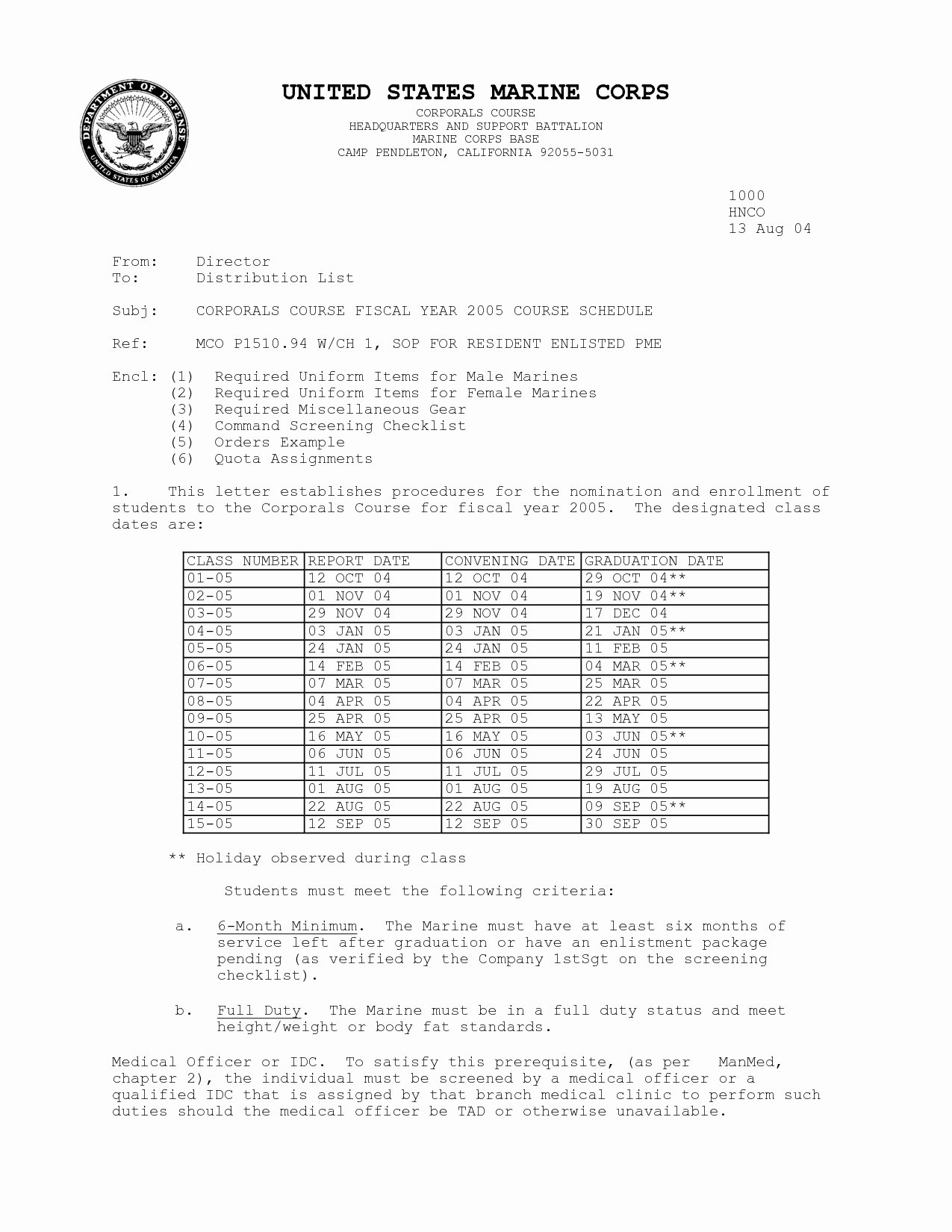 Standard Naval Letter format Unique Naval Letter format Usmc Template Collection