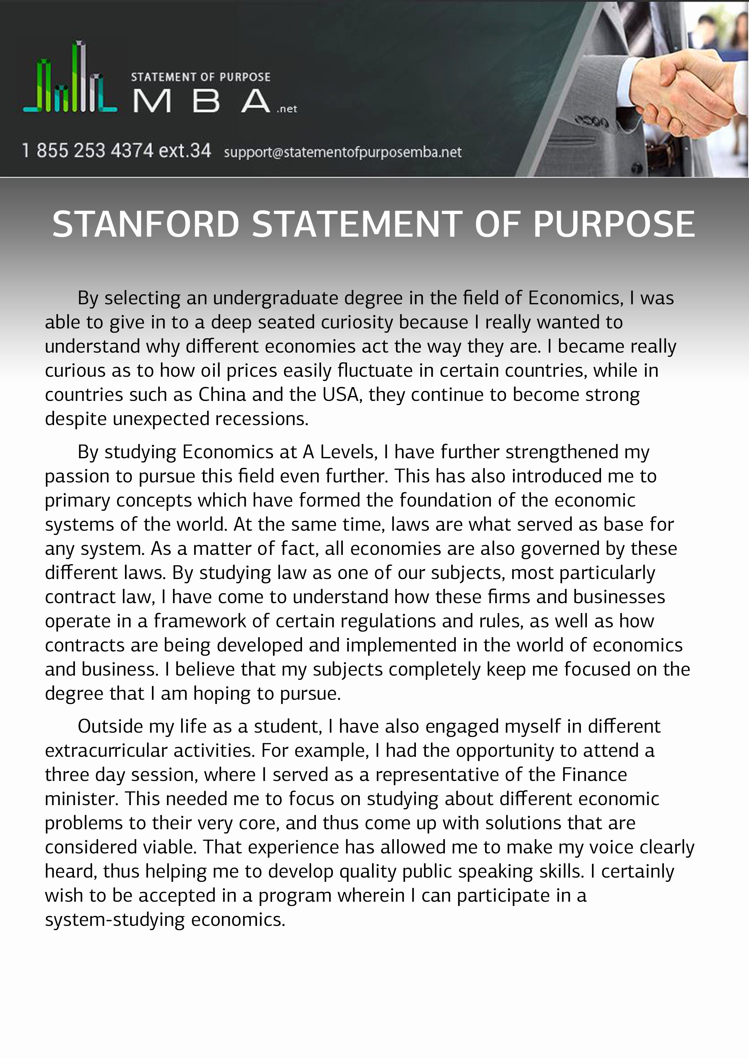Stanford Letter Of Recommendation Lovely Stanford Statement Of Purpose Writing with Professionals