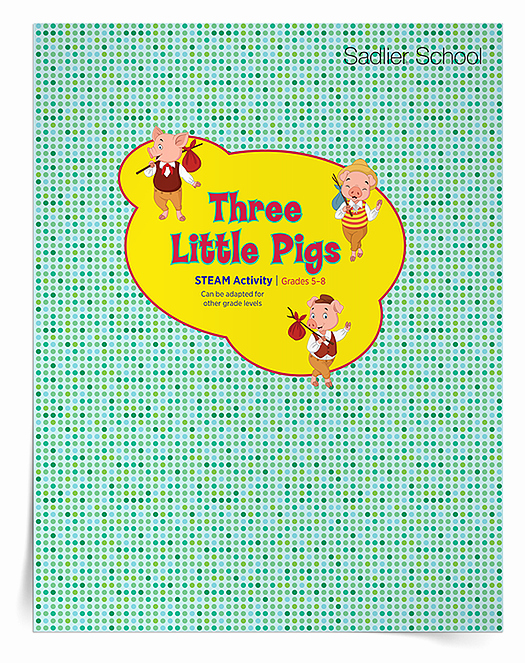 Steam Lesson Plan Template Best Of 3 Little Pigs Stem Steam Lesson Plan Template Grades 5–6