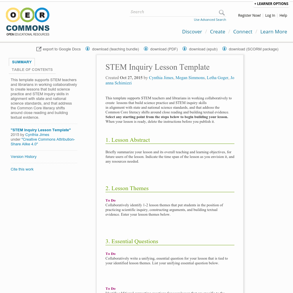 Stem Lesson Plan Template Fresh Stem Inquiry Lesson Template