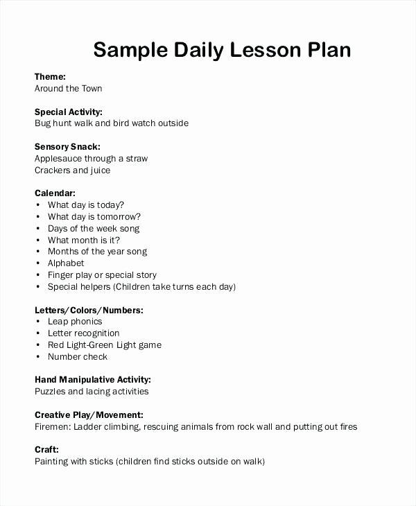 Stem Lesson Plan Template Luxury Stem Lesson Plan Template Pdf Editable Individual Lesson