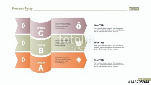 """Stock Option Plan Template Best Of """"three Options Plan Slide Template"""" Stock Image and"""