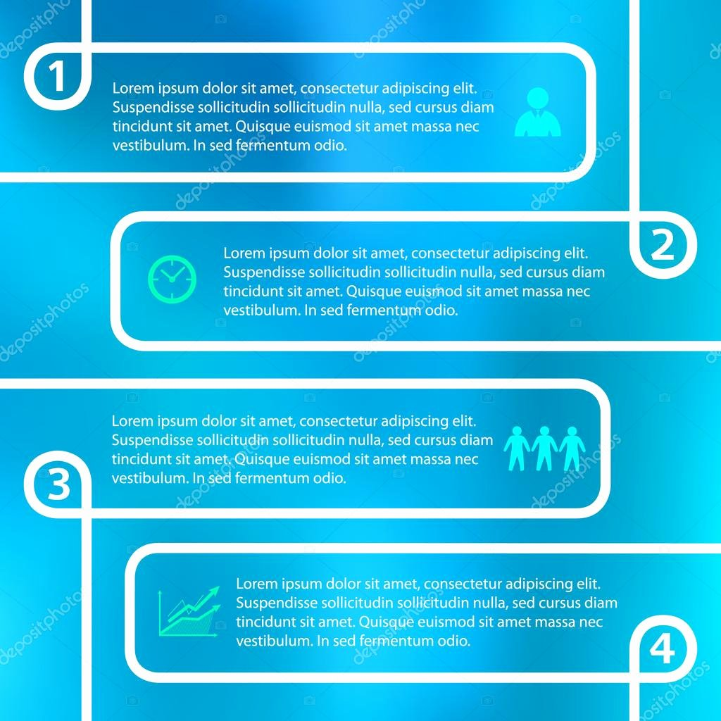 Stock Option Plan Template Fresh Loop Option Plan Vector Template Page Booklet — ストックベクター ©