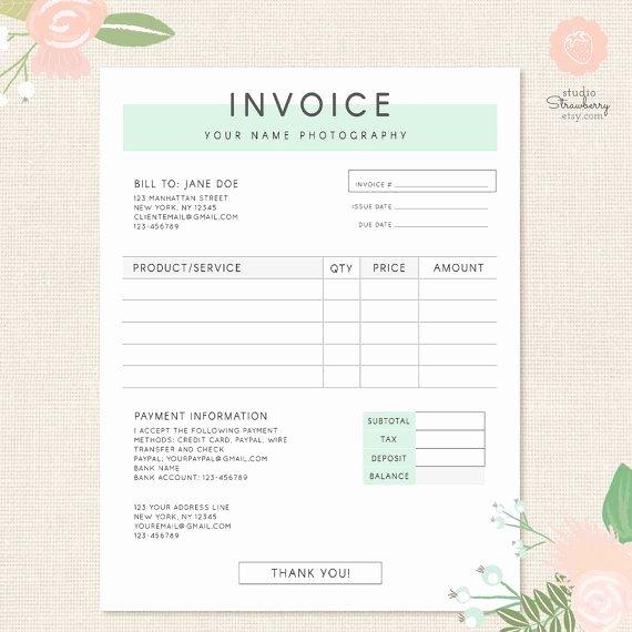 Stock Option Plan Template Inspirational Graphy Invoice Sample Graphy Invoice Template
