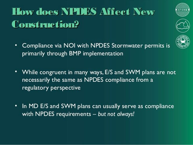 Stormwater Pollution Prevention Plan Template Luxury Maryland Water Laws and Regulations