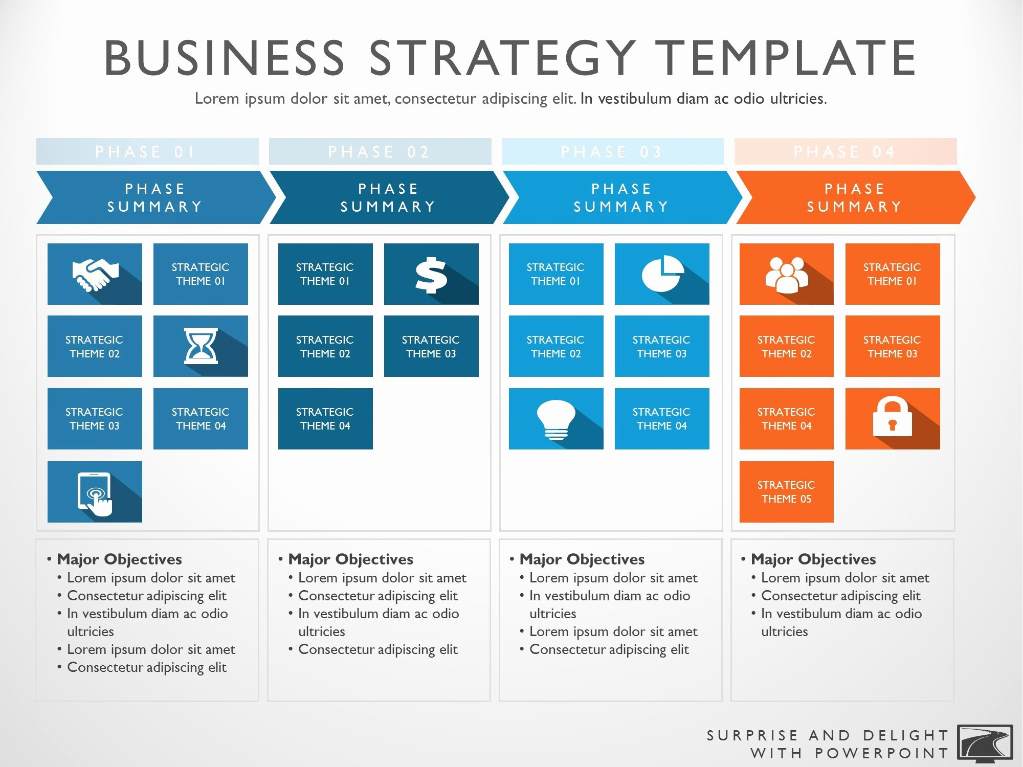 Strategic Business Plan Template Beautiful Business Strategy Template