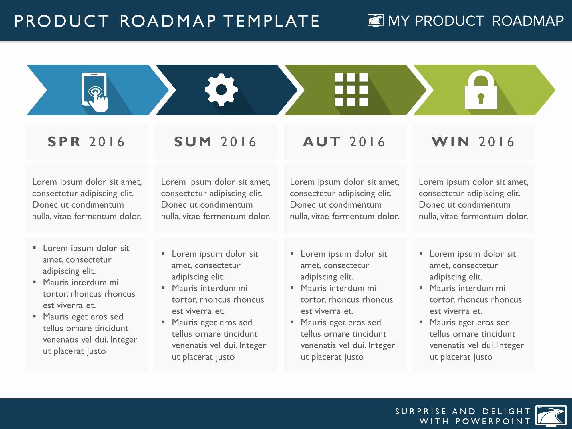 Strategic Plan Ppt Template Beautiful Four Phase Business Strategy Timeline Roadmapping