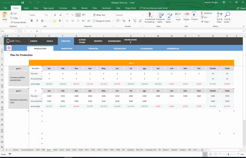 Strategic Plan Template Excel Best Of Strategic Plan Template Excel Luz Spreadsheets