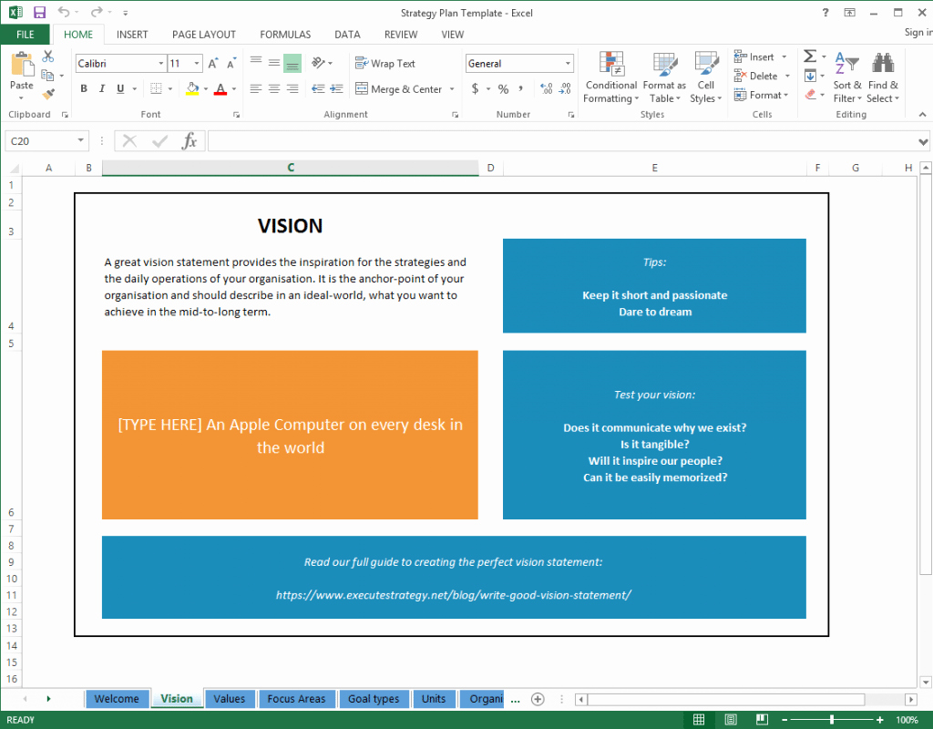 Strategic Plan Template Excel Unique top 5 Resources to Get Free Strategic Plan Templates