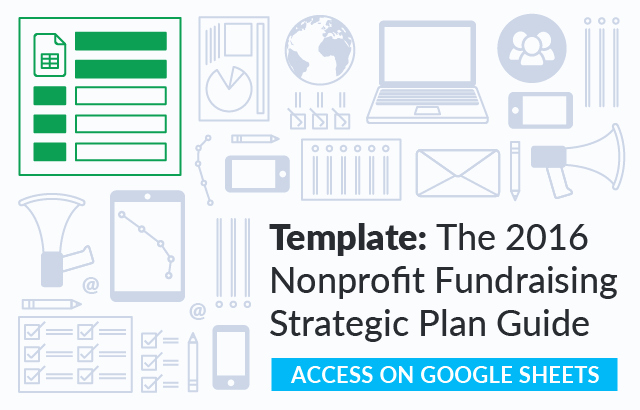 Strategic Plan Template for Nonprofits Luxury the Nonprofit Fundraising Strategic Plan Guide