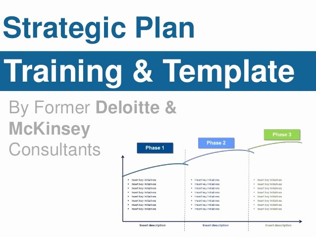 Strategic Plan Template for Nonprofits New Strategic Plan Template