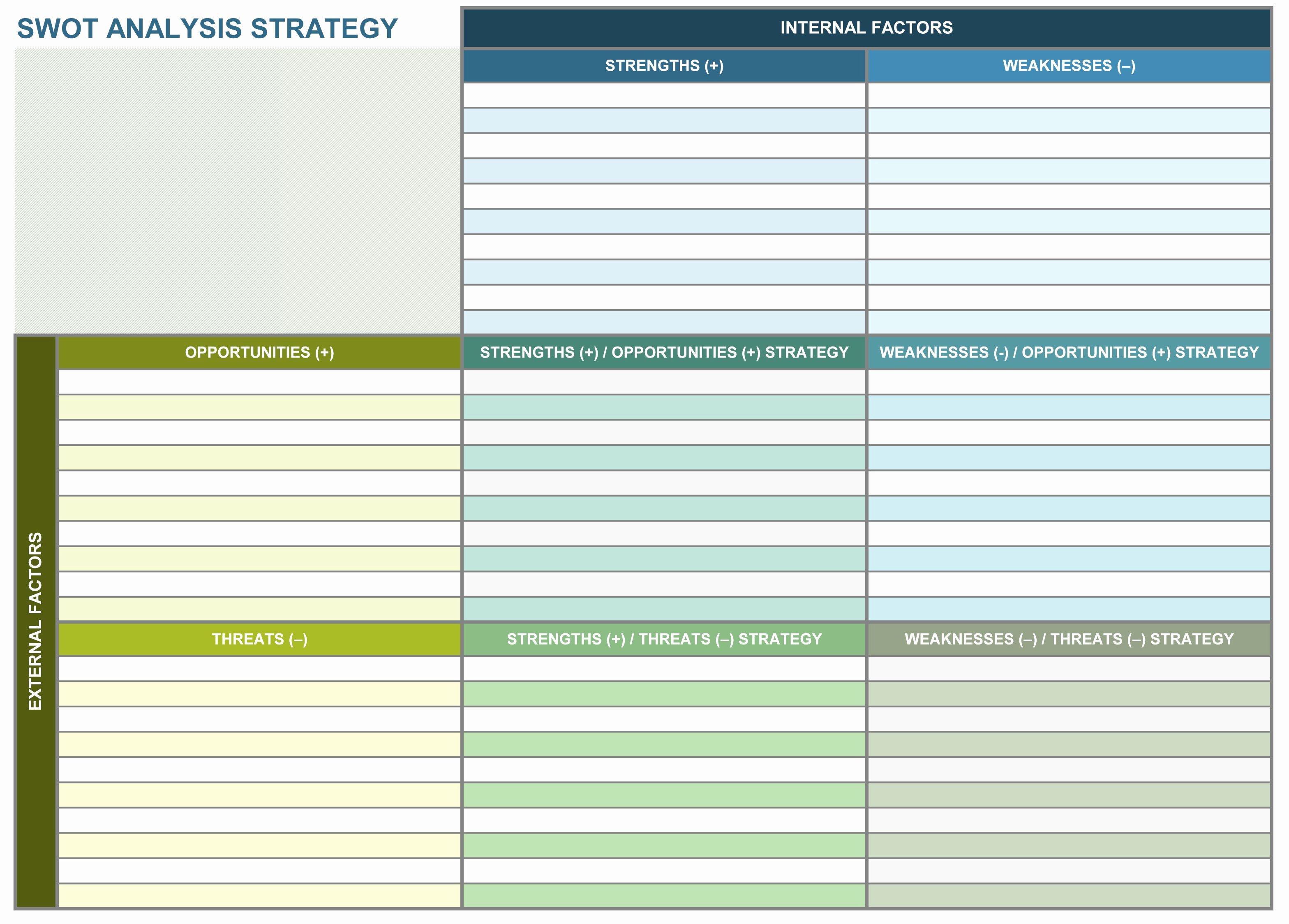 Strategic Plan Template Free Inspirational 9 Free Strategic Planning Templates Smartsheet