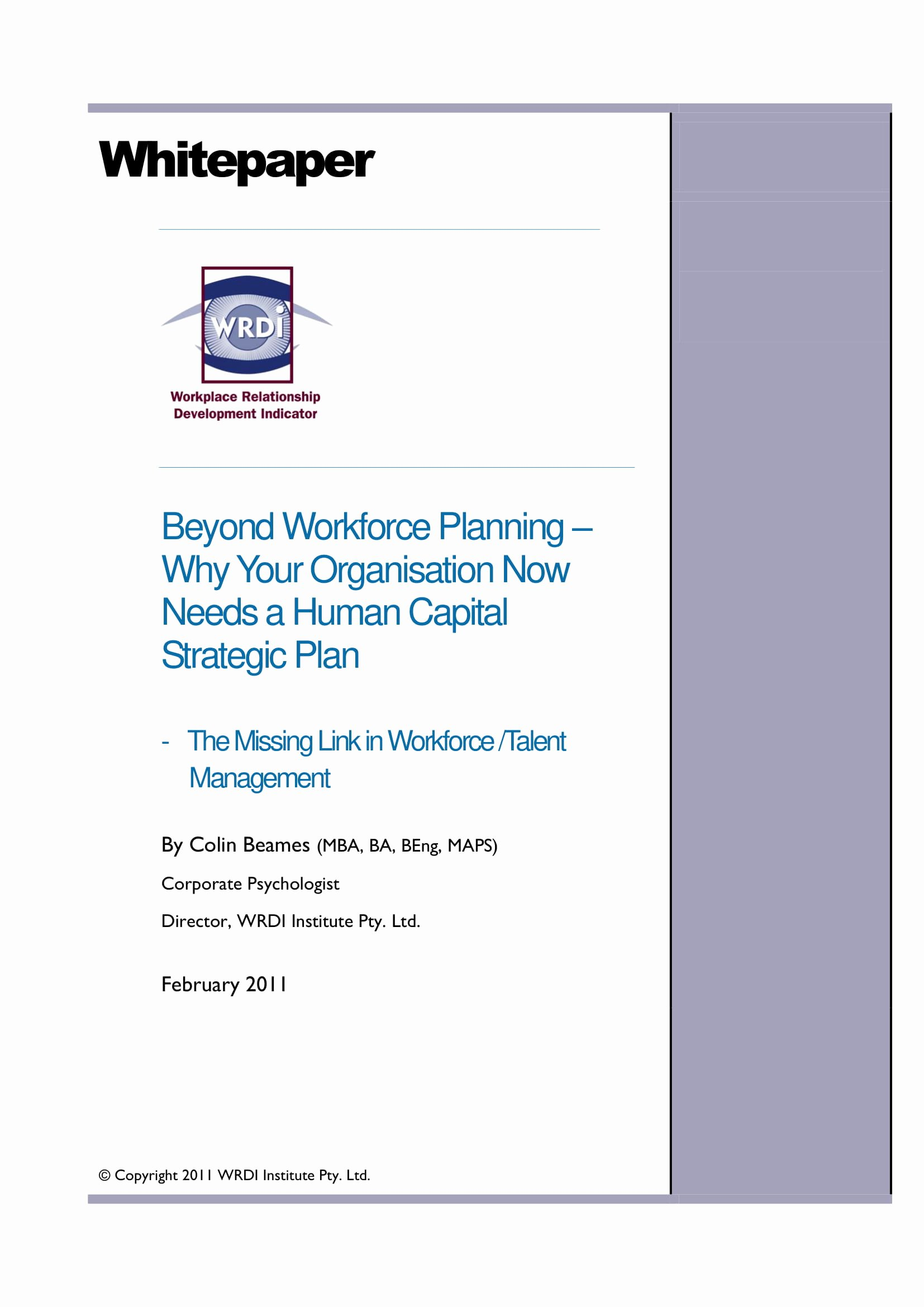 Strategic Workforce Plan Template Awesome 14 Examples Of Workforce Planning Templates Pdf