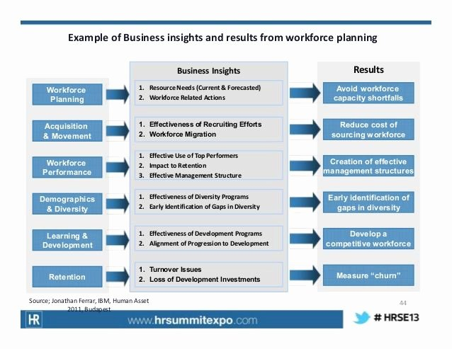 Strategic Workforce Plan Template Fresh Di³ Example Of Business Insights and Results From