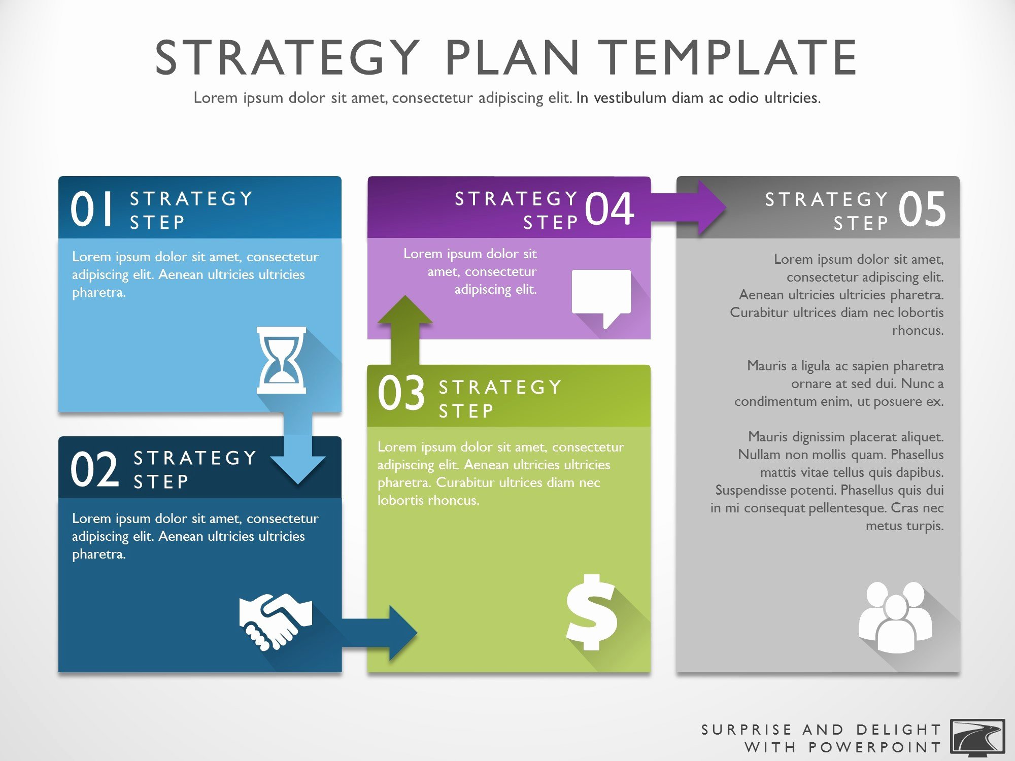 Strategy Business Plan Template Lovely Business Strategy Template
