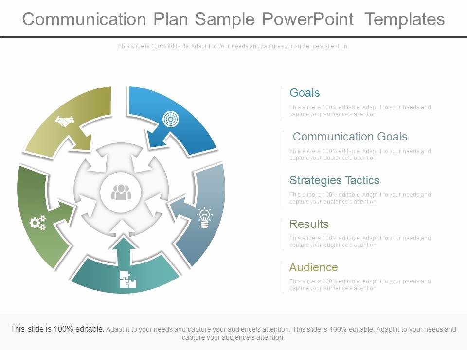 Strategy Plan Template Powerpoint Awesome Munication Plan Sample Powerpoint Templates
