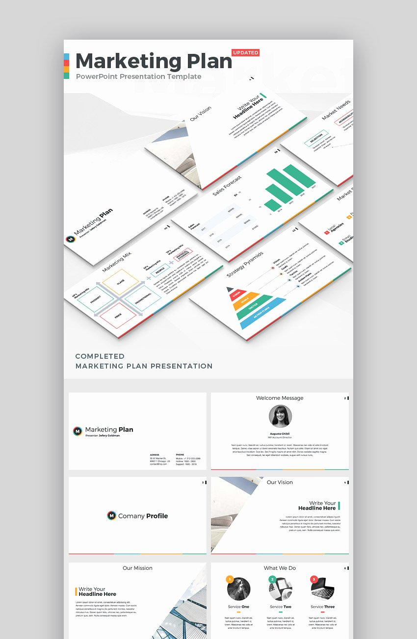 Strategy Plan Template Powerpoint Beautiful 20 Marketing Powerpoint Templates Best Ppts to Present